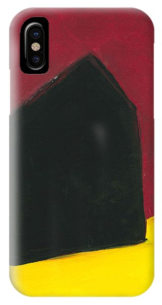 Black Arthouse IPhone Case