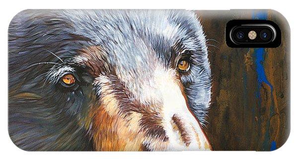 Black Bear The Messenger IPhone Case