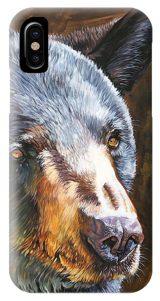 Black Bear The Messenger IPhone Case