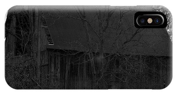 Black Bird Barn IPhone Case