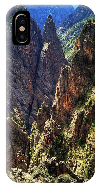 Black Canyon Of The Gunnison National Park I IPhone Case