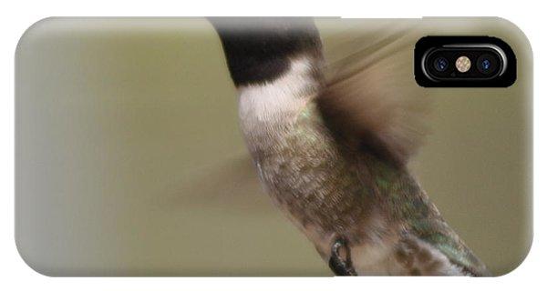 Black-chinned Hummingbird IPhone Case