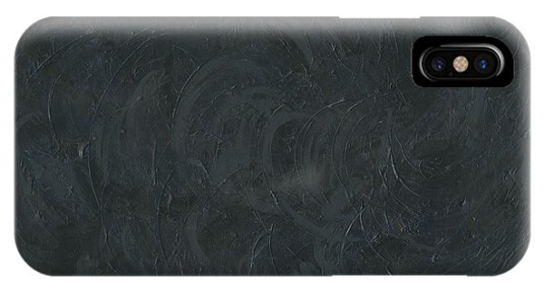 Black Color Of Energy IPhone Case