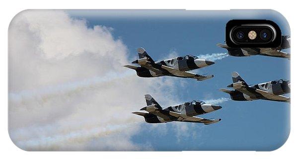 Black Diamond L-39s In Flight IPhone Case