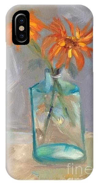 Black-eyed Susan Alla Prima IPhone Case