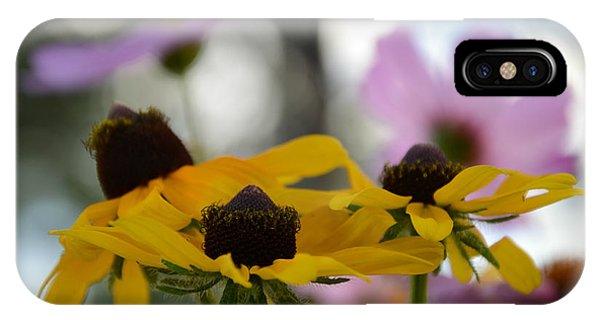 Black-eyed Susans In Focus Phone Case by Dakota Light Photography By Dakota