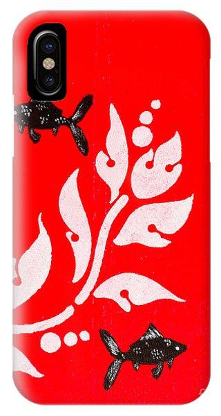 Black Fish Left IPhone Case