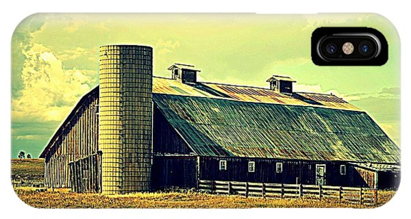 Black Forest Road Barn IPhone Case