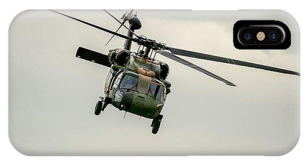 Black Hawk Swoops IPhone Case