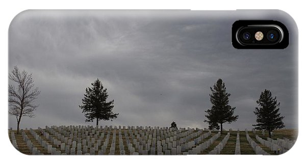 Black Hills Cemetery IPhone Case