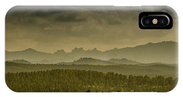 Black Hills Layers IPhone Case