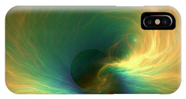 Black Hole Event Horizon IPhone Case