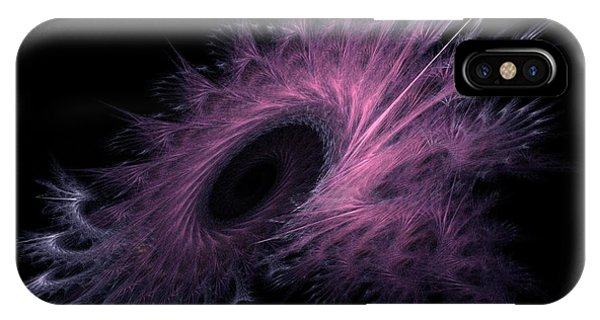 Black Hole Expanding Fractal Art IPhone Case
