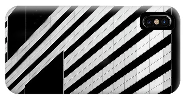 Facade iPhone Case - Black Interruptions by Greetje Van Son