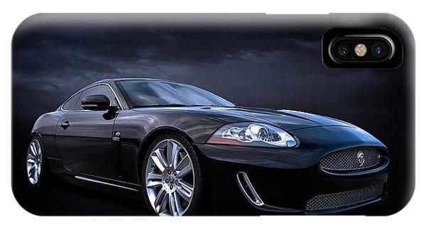 Mancave iPhone Case - Black Jaguar by Douglas Pittman