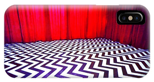 Black Lodge Blues IPhone Case