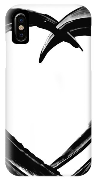 Hearts iPhone Case - Black Magic 311 By Sharon Cummings by Sharon Cummings