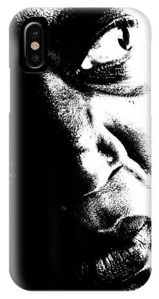 Black Miracle Portrait 12 IPhone Case