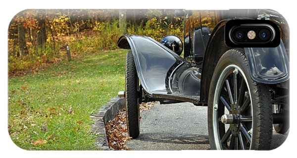 Black Model A On Blue Ridge Parkway IPhone Case
