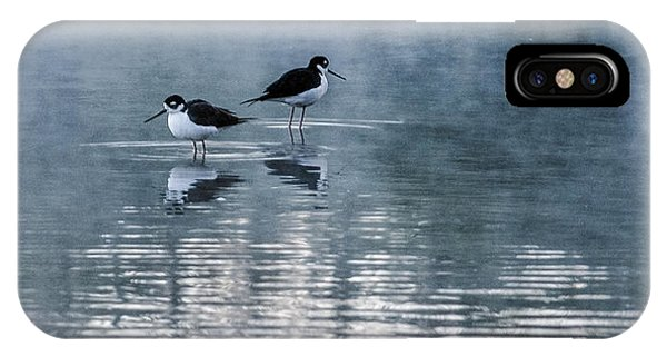 IPhone Case featuring the photograph Black-necked Stilts by Tam Ryan