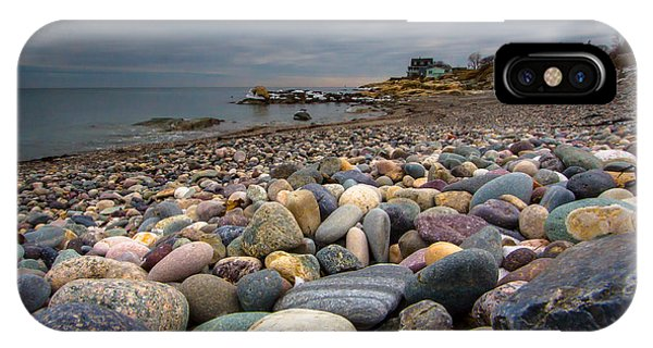Black Rock Beach IPhone Case