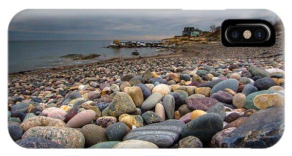 Black Rock Beach IPhone Case
