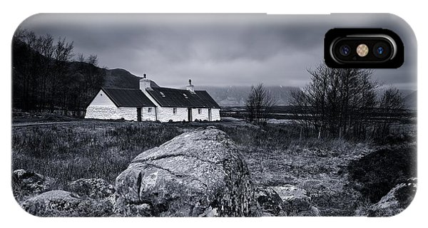 Black Rock Cottage - Glencoe IPhone Case