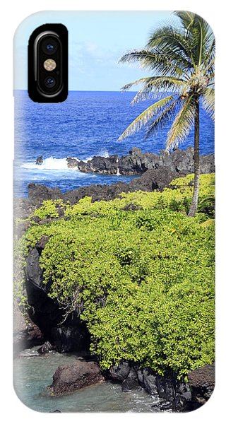 Black Sand Beach Lookout Park IPhone Case