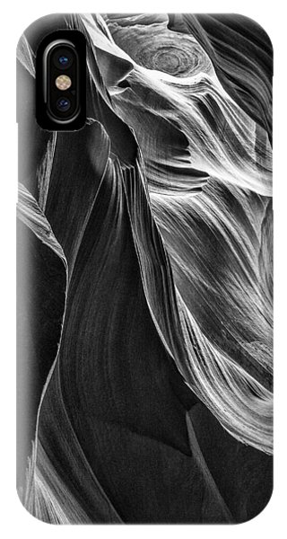 Black Sandstone IPhone Case