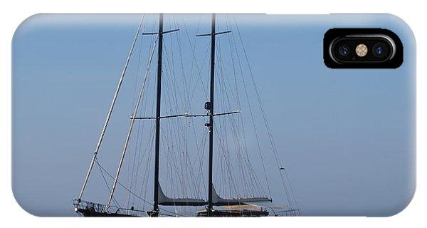 Black Ship IPhone Case