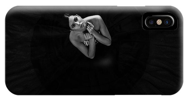 Beauty iPhone Case - Black Swan by Martin Krystynek Qep
