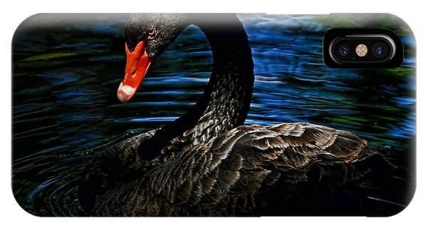 Black Swan IPhone Case