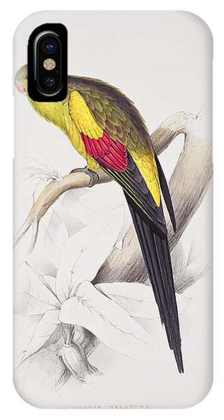 Black Tailed Parakeet IPhone Case