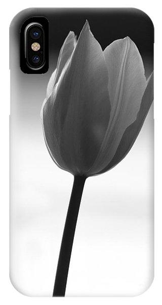 Black Tulip Phone Case by Carlos Magalhaes