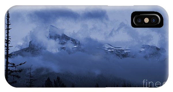 Black Tusk Mountain IPhone Case
