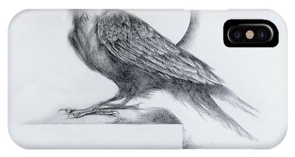 Raven iPhone Case - Black Watch by Derrick Higgins