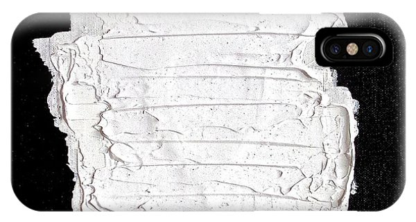 Black White And White Phone Case by Rob Van Heertum