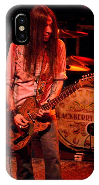 Blackberry Smoke Guitarist Charlie Starr IPhone Case
