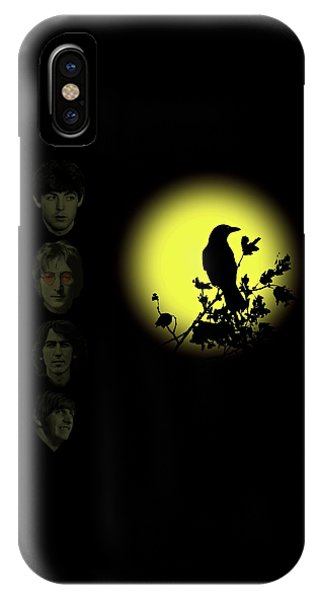 Blackbird Singing In The Dead Of Night IPhone Case