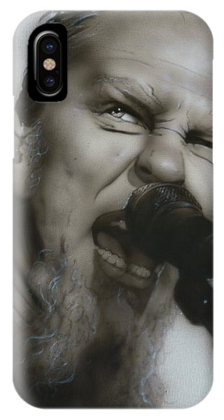 Blackened IPhone Case