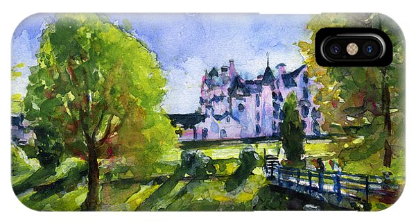 Blair Castle Bridge Scotland IPhone Case