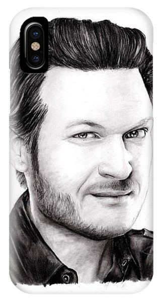 Blake Shelton Phone Case by Rosalinda Markle