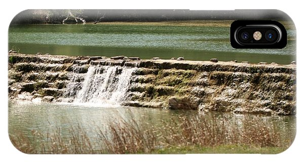 Blanco River Weir IPhone Case