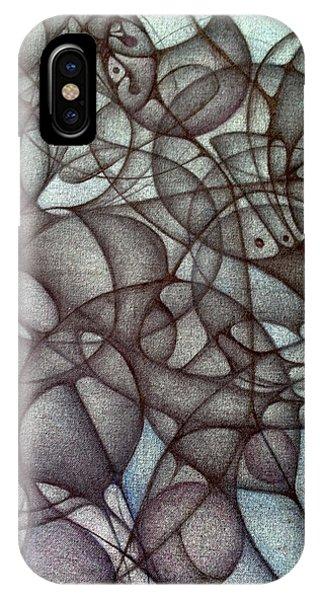 Blank Inside Card Design Twenty Six IPhone Case