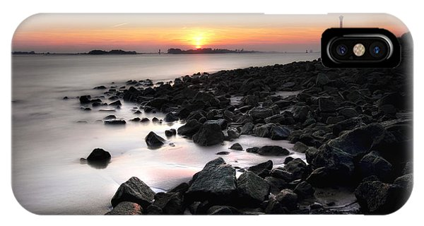 Blankenese Sunset IPhone Case