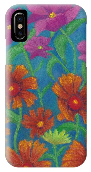 Blanket Flowers And Cosmos IPhone Case