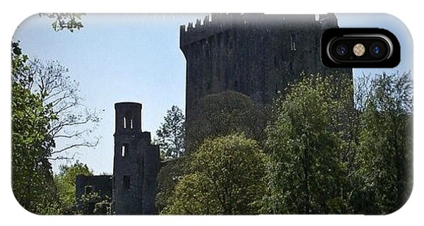Fantasy iPhone Case - Blarney Castle Where You Must Kiss The by Teresa Mucha