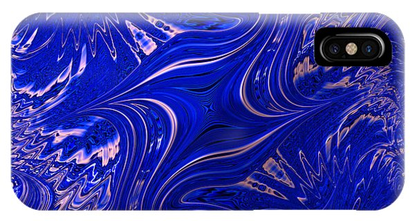 Blau Punked IPhone Case