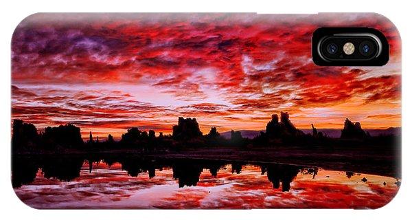Blazing Dawn IPhone Case