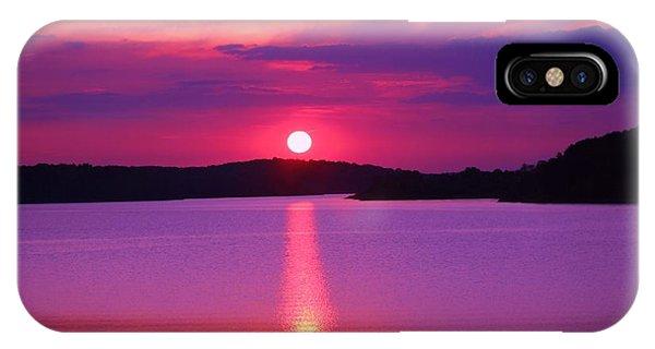 Blazing Sunset IPhone Case